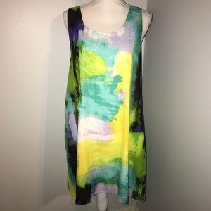 LIKE NEW! Multicolor Flowy Dress (10)